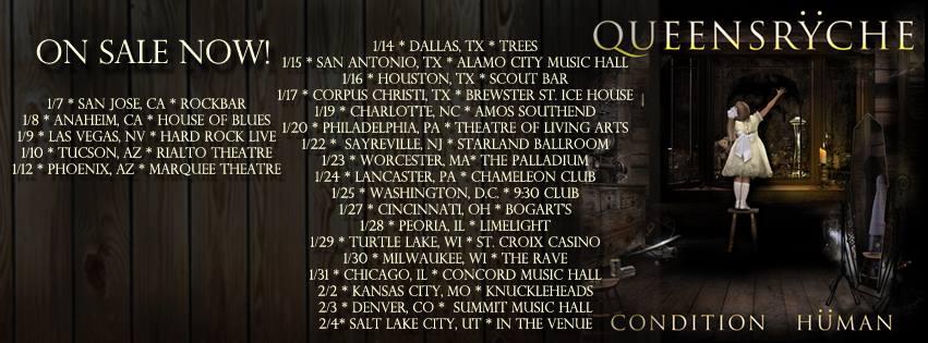 Queensryche tour dates