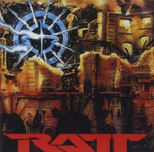 Ratt Detonator CD cover
