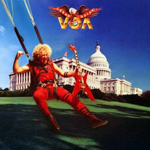 Sammy Hagar VOA album cover