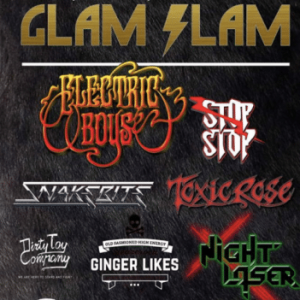Glam Slam Festival in Belgium on May 9, 2020 to feature Electric Boys, Snakebite and Toxic Rose