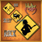 Helix: 'Eat Sleep Rock'