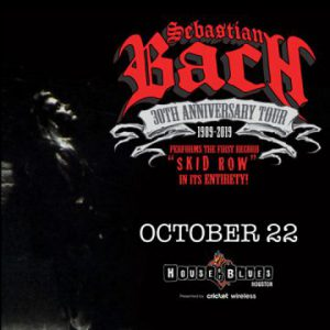 Sebastian Bach with opener Kobra And The Lotus live in Houston, Texas, USA Concert Review
