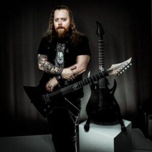 Interview with Screamer, Shakedown Suzies & The Embodied guitarist Jonathan Aagaard Mortensen