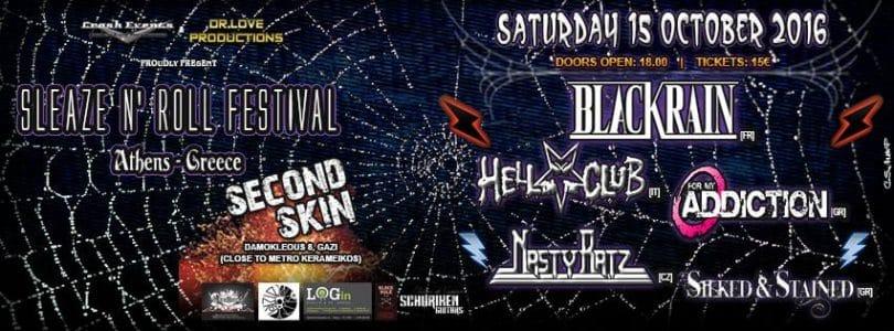 Sleaze N Rock Festival poster
