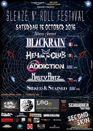 Sleaze N' Roll Festival poster