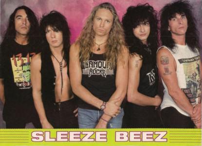 Sleeze Beez photo