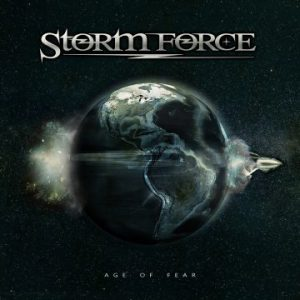 "Storm Force feat. Brighton Rock guitarist Greg Fraser unveil lyric video for single ""Because of You"""