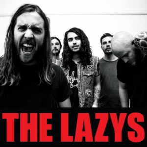 The Lazys CD cover