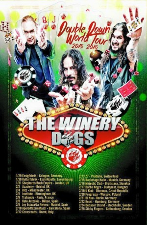 The Winery Dogs poster