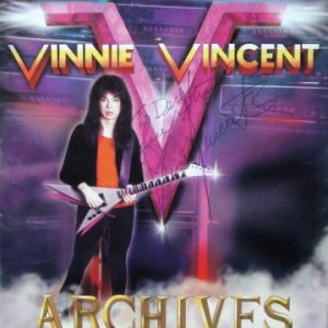 Vinnie Vincent to re-release albums 'Euphoria' and 'Speedball Jamm' + release two other records