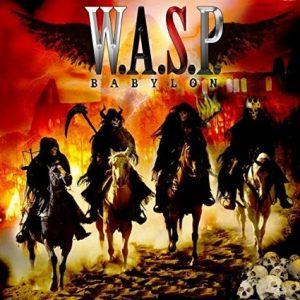 WASP Babylon CD cover