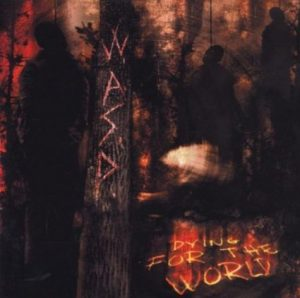WASP Dying CD cover