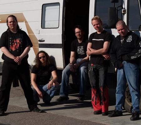 Left to right: Antti Roksa, Rude Rothsten, Mika Siitonen, Tomi Nousiainen and Marko Purosto