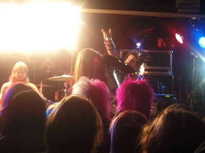 Hardcore Superstar and Bullet live in Scotland 2010
