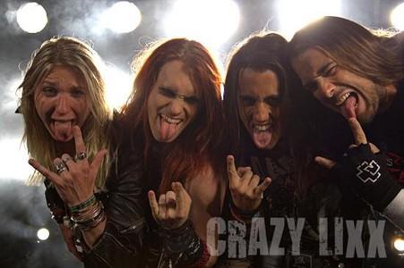 Danny Rexon of Crazy Lixx Sleaze Roxx Interview