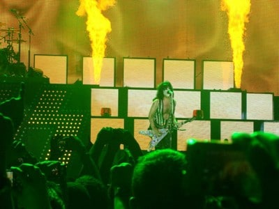 KISS live in Glasgow 2010