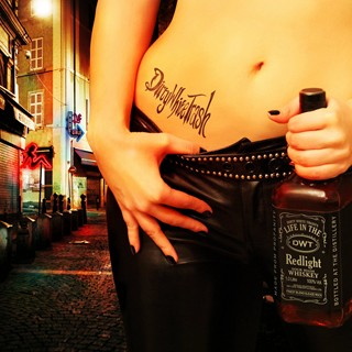 Dirty White Trash - Life In The Redlight