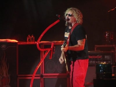 Sammy Hagar live in Toronto, Ontario
