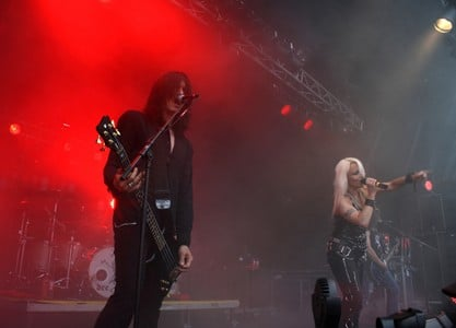 Saxon and Doro in Berlin, Germany 2010