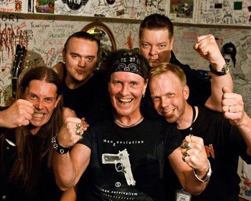 Tomi Nousiainen-Gunnar of Wolfchild Sleaze Roxx Interview